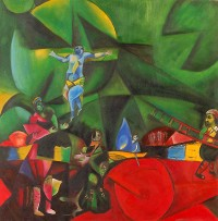 calvario chagall2