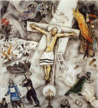 crucifixion blanche chagall